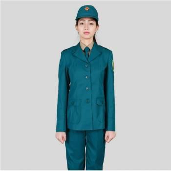 Quần áo dân quân tự vệ nữ, áo dài tay mùa đông