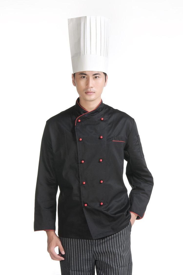 Mẫu áo đầu bếp nhà hàng khách sạn