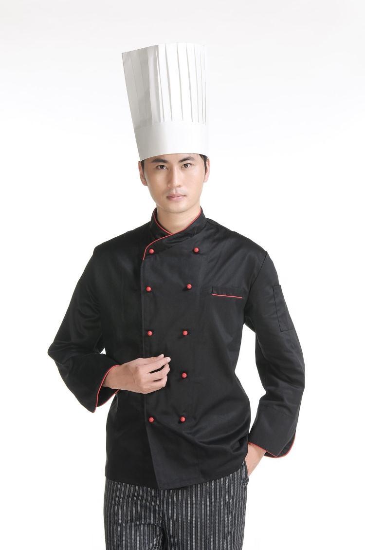 Chất liệu cao cấp tạo nên một mẫu áo đầu bếp đẹp
