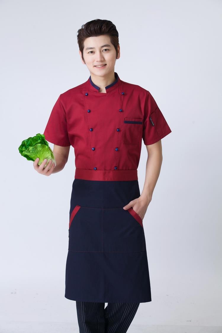 Mẫu đồng phục đầu bếp  đẹp