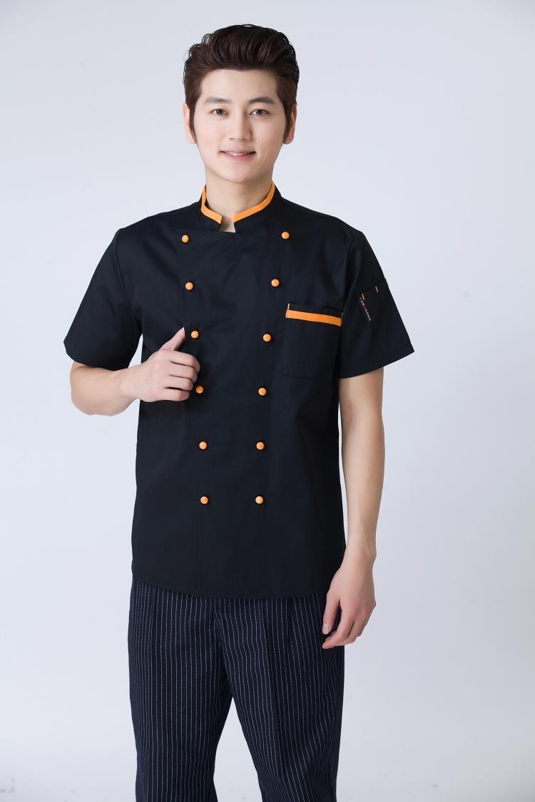 Thiết kế áo đồng phục đầu bếp phong cách Nhật Bản