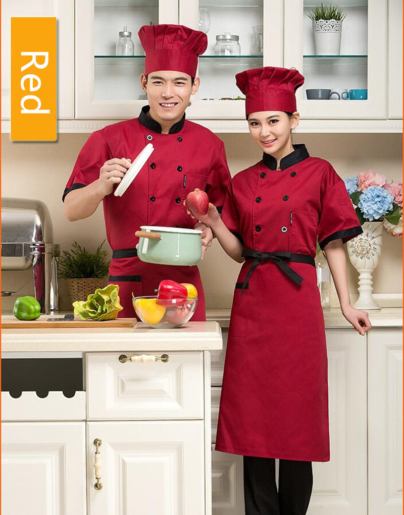 Đồng phục đầu bếp 135