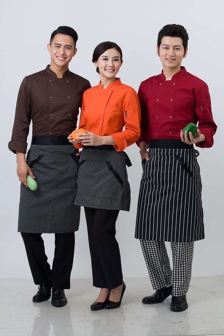 May đồng phục nhà hàng khách sạn tại quận Thanh Xuân - Đồng phục bếp