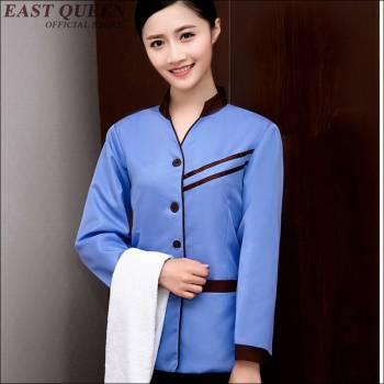 May đồng phục nhà hàng khách sạn tại quận Thanh Xuân-tạp vụ