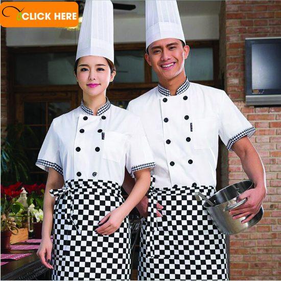 Đồng phục đầu bếp đẹp