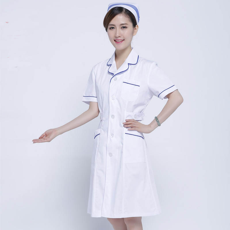 Thiết kế áo liền váy dành cho nhân viên điều dưỡng nữ