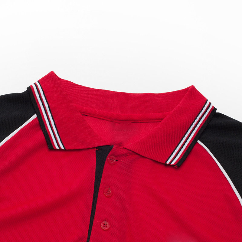 áo phông đỏ phối đen thể thao đẹp1