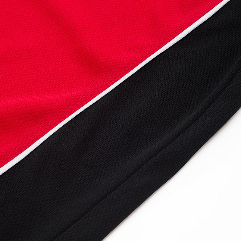 áo phông đỏ phối đen thể thao đẹp2
