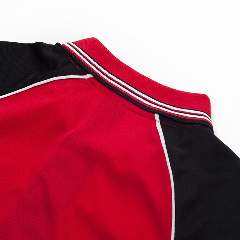 áo phông đỏ phối đen thể thao đẹp4