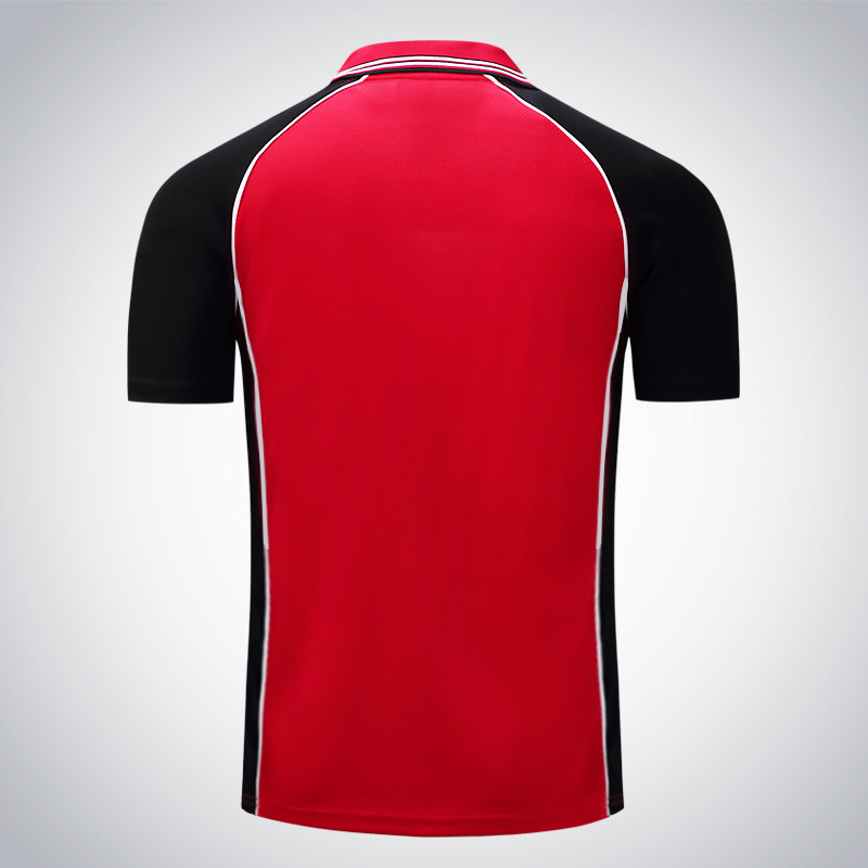áo phông đỏ phối đen thể thao đẹp