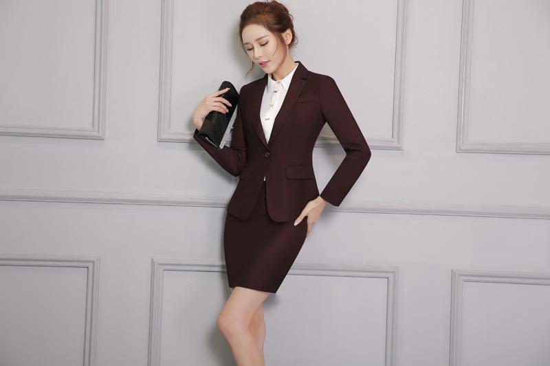 Đồng phục áo vest nữ công sở đẹp - 993616