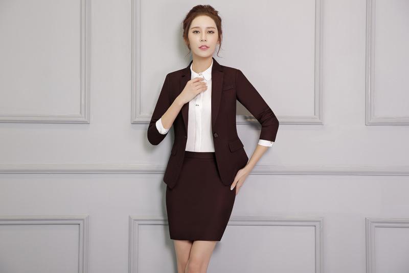 Đồng phục áo vest nữ công sở đẹp - 901846