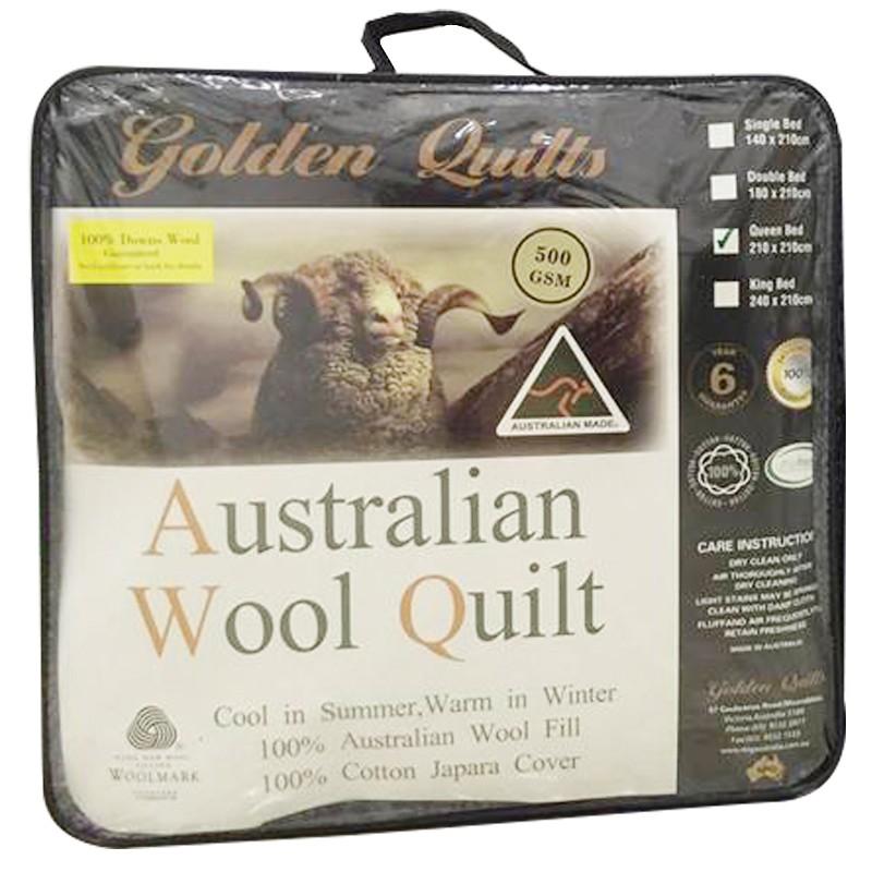 Chăn lông cừu Úc.