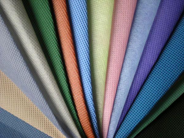 Vải cotton không dệt làm túi sách.