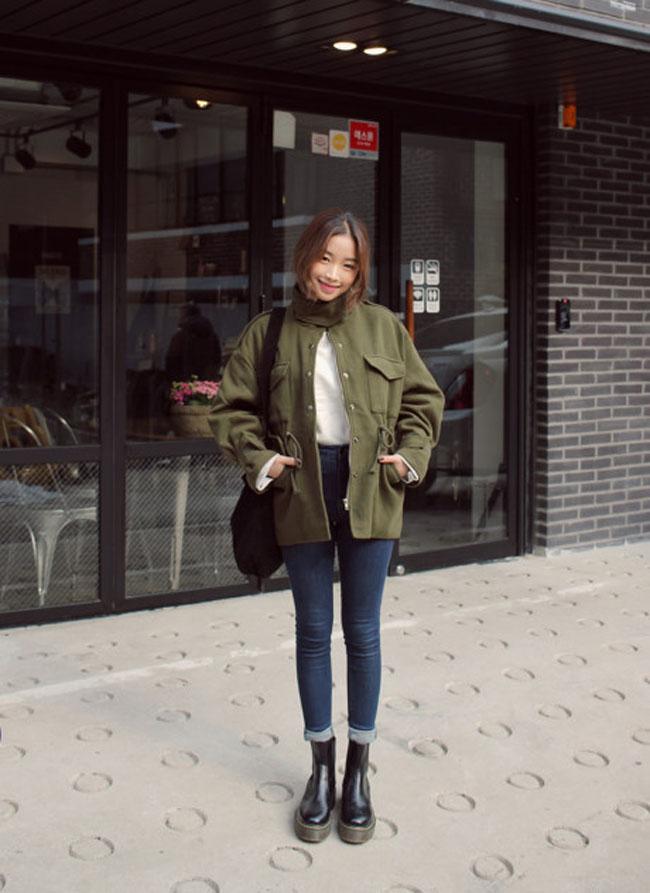 10 mẫu áo khoác thu đông đẹp nhất cho teen 20171
