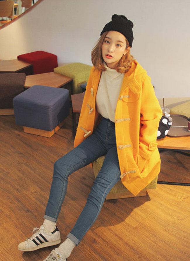 10 mẫu áo khoác thu đông cho teen 201724