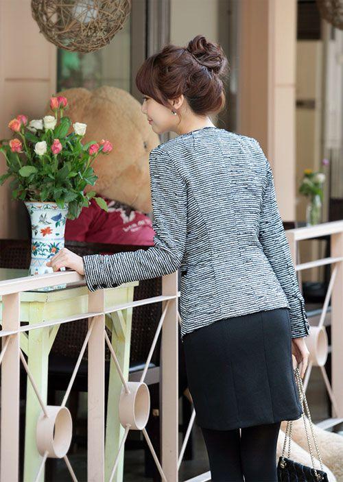 Áo vest là mẫu áo rất dễ dàng kết hợp cùng các trang phục khác như quần tây, áo sơ mi, chân váy, váy liền5