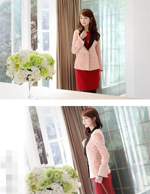 Áo vest là mẫu áo rất dễ dàng kết hợp cùng các trang phục khác như quần tây, áo sơ mi, chân váy, váy liền12
