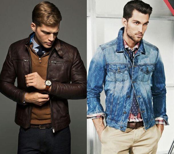 Hãy thử biến tấu set đồ Tây của mình với leather jacket hay denim jacket, bạn sẽ thấy chốn văn phòng không còn buồn chán.