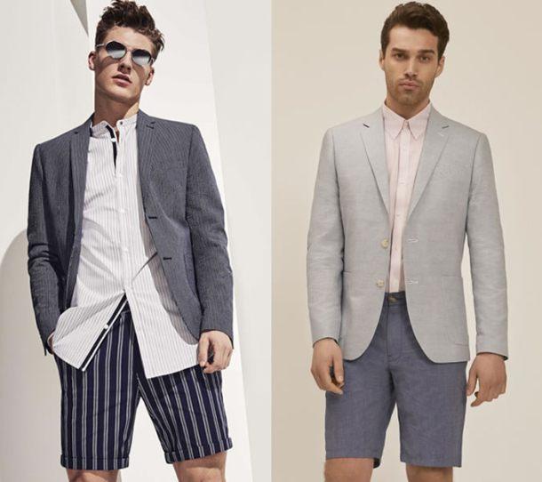 Xu hướng short suit ngày càng phố biến, đặc biệt là thời trang đường phố nhưng đây lại không phải một gợi ý cho số đông.
