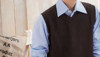 1001 mẫu áo gile len nam đẹp cho thu đông 2017