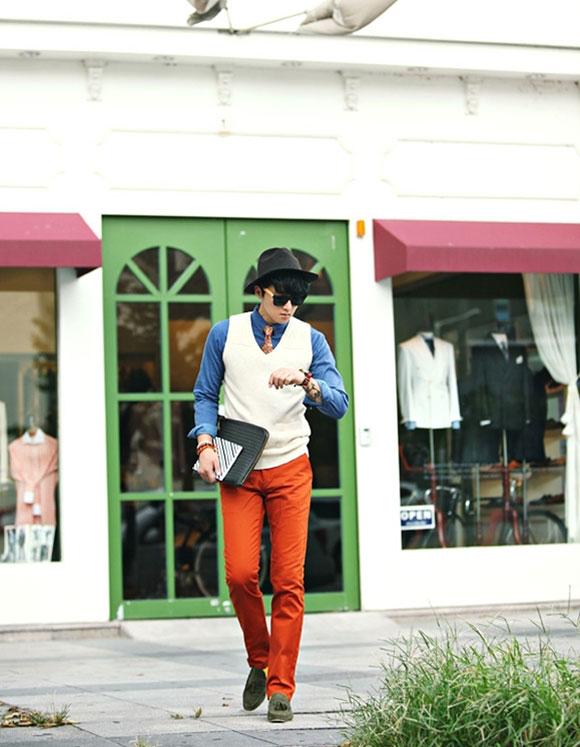 Gile nam len công sở - Thời trang Mantis
