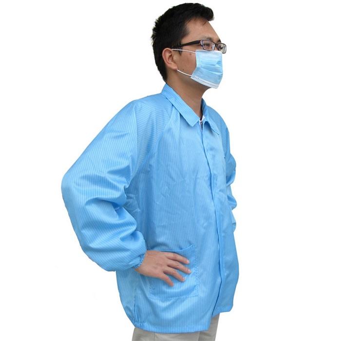 Áo chống tĩnh điện trong phòng sạch