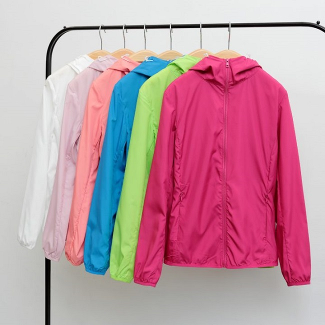 Hình ảnh áo khoác gió- đồng phục mantis