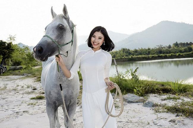 Hoa hậu biển Đào Hà - người được mệnh danh là bản sao của Tăng Thanh Hà.