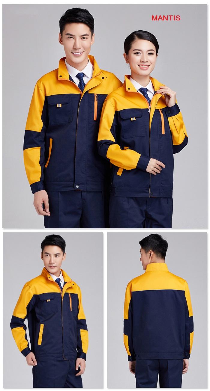 Đồng phục áo khoác công nhân cơ khí Hà Nội