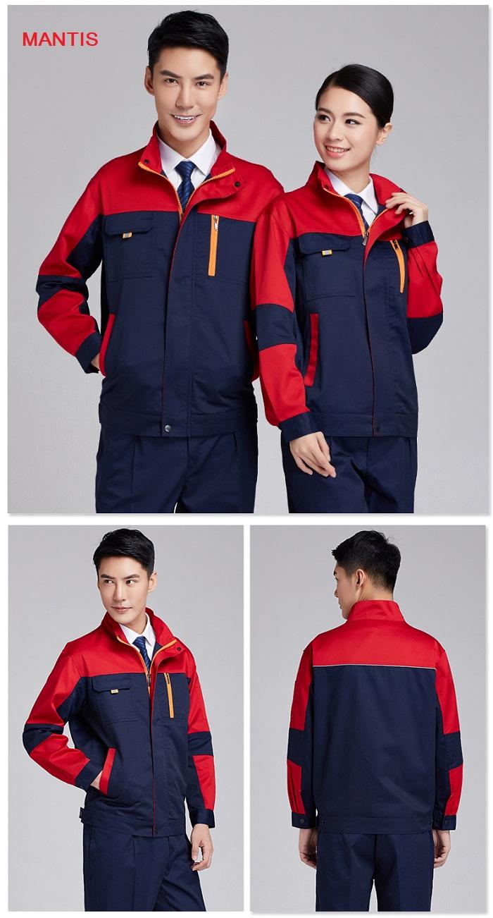 Đồng phục áo khoác công nhân cơ khí