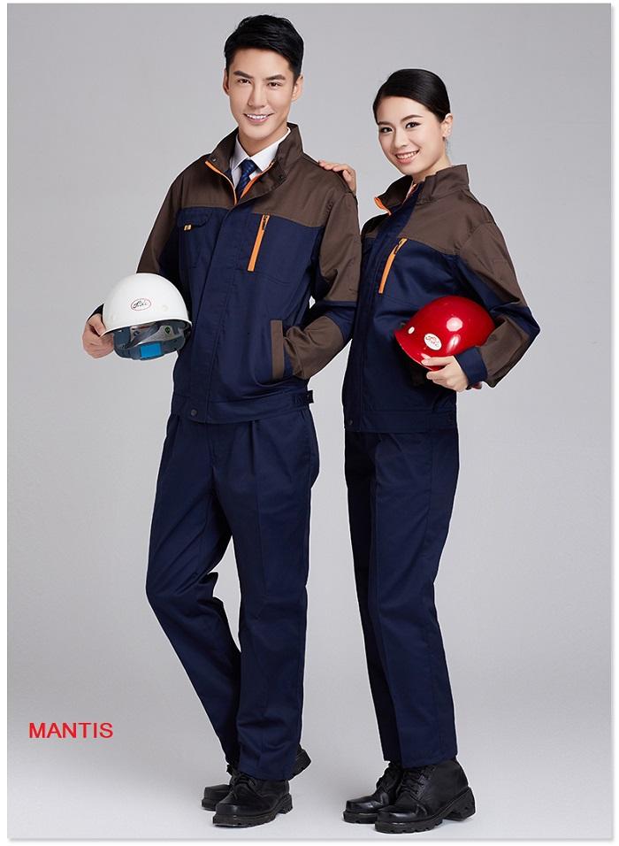 Mẫu đồng phục công nhân cơ khí mùa đông