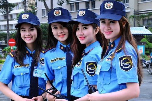 Đồng phục bảo vệ công ty.