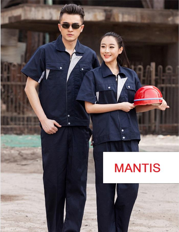 Quần áo bảo hộ công nhân cơ khí
