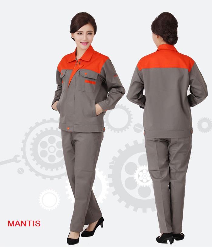 Quần áo công nhân xây dựng nữ
