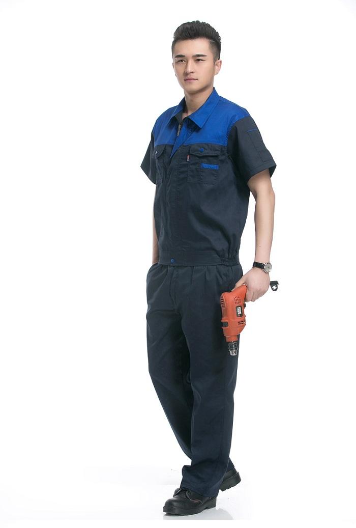 Đồng phục kỹ sư sửa chữa máy xanh