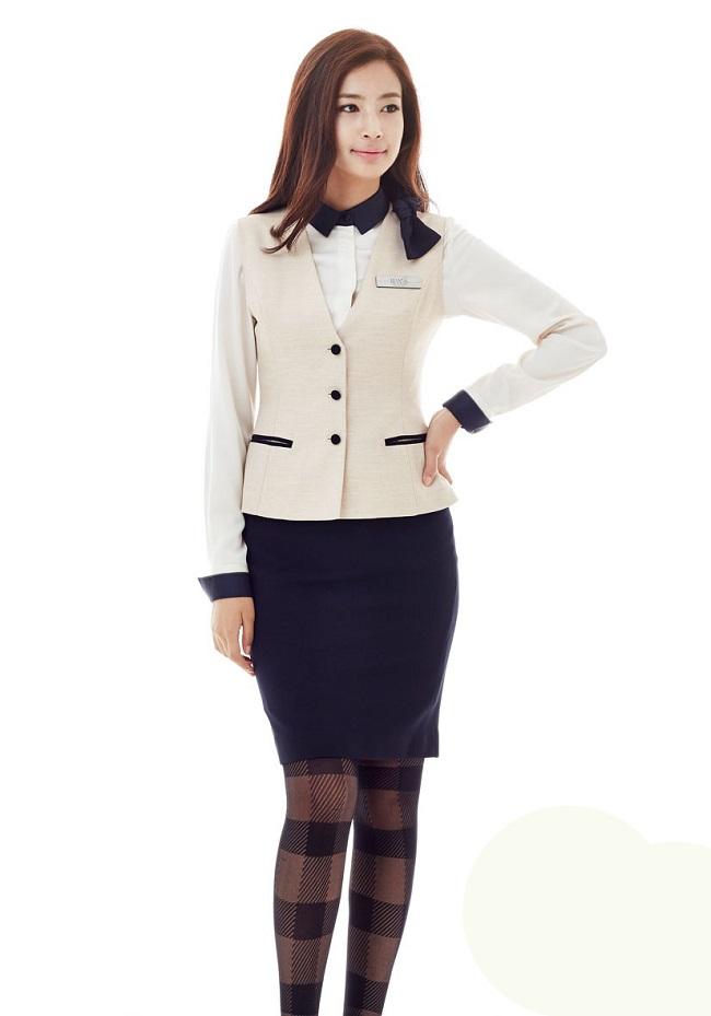Mẫu gile nữ đẹp, set đồ đồng phục công sở nữ đẹp 2017 - Ảnh mẫu 1