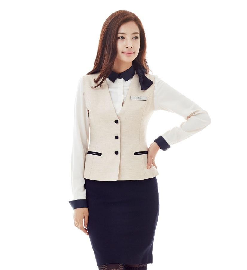 Mẫu gile nữ đẹp, set đồ đồng phục công sở nữ đẹp 2017 - Ảnh mẫu 3