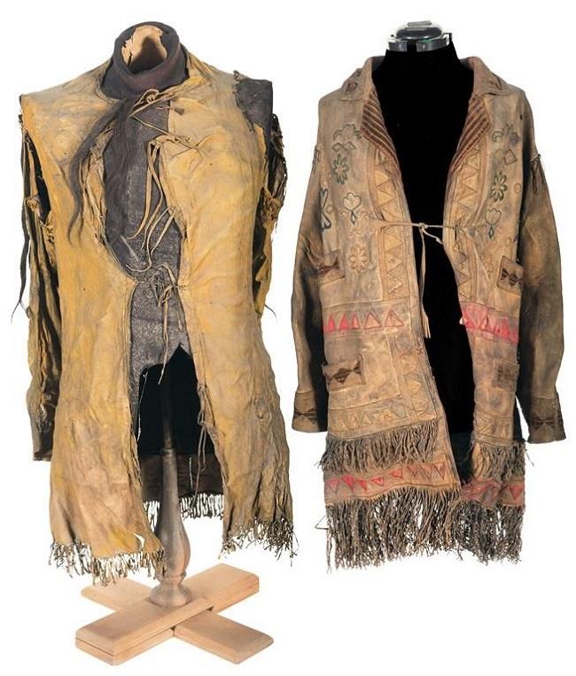 Hình ảnh chiếc áo khoác thời kỳ đầu tiên.