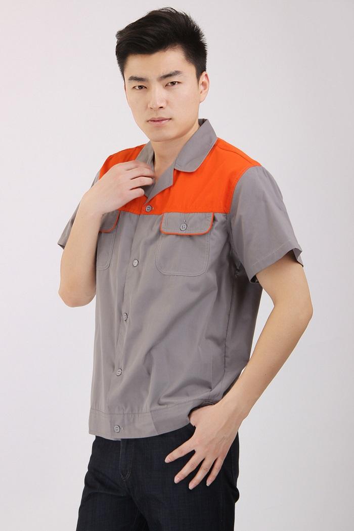 Bảo hộ lao động áo cộc tay