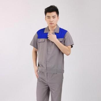Quần áo bảo hộ lao động mùa hè cho công nhân nam, nữ