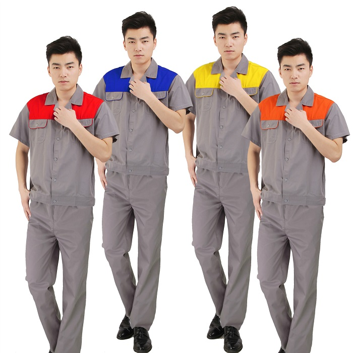 Quần áo bảo hộ công nhân mùa hè - Đồng phục Mantis
