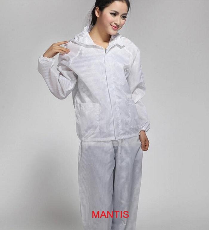 Quần áo chống tĩnh điện phòng sạch nhà máy điện tử