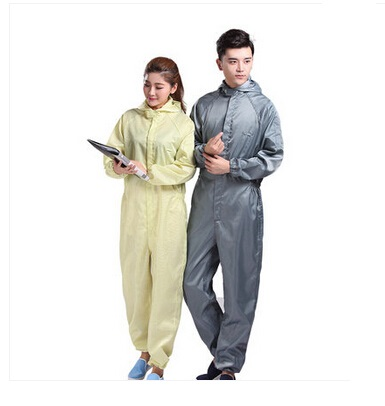 Quần áo chống tĩnh điện dạng jumpsuit