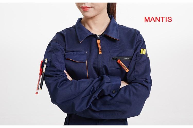 Quần áo đồng phục công nhân nhiều túi