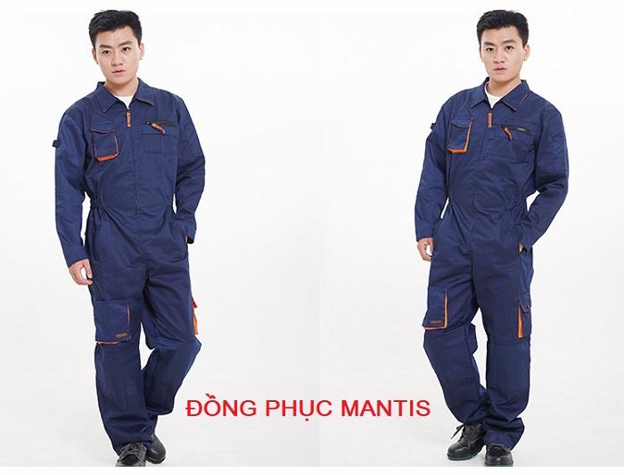Quần áo đồng phục công nhân - Bảo hộ Mantis