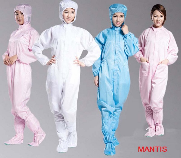 Quần áo phòng sạch - Đồng phục Mantis