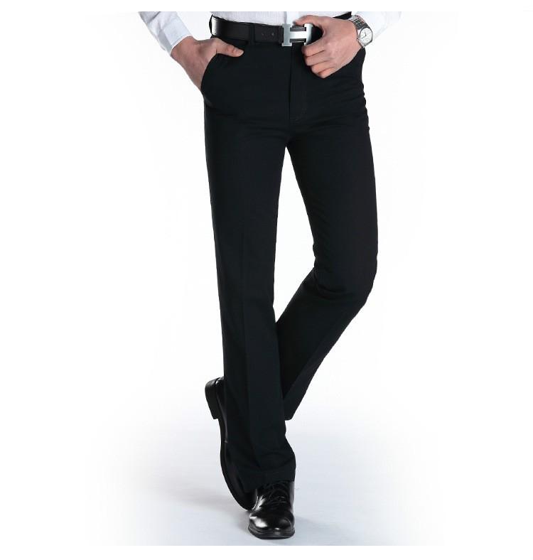 đồng phục quần âu nam kaki đen đẹp 01