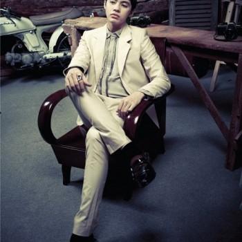 Sắc màu retro rất phù hợp với các quý ông ưa vẻ lịch sự, sang trọng.1