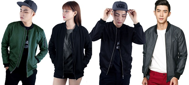 Xu hướng áo jacket trong giới trẻ thu đông 2017